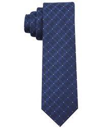 Perry Ellis - Blue Echoe Dot Tie for Men - Lyst