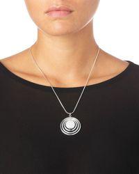 Phase Eight - Metallic Florrie Necklace - Lyst