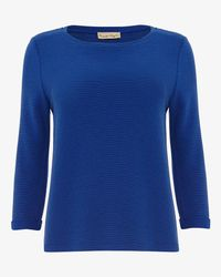 Phase Eight - Blue Ola Ottoman Top - Lyst
