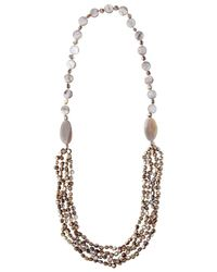 Phase Eight - Multicolor Seashore Beaded Necklace - Lyst