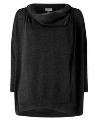 Phase Eight - Black Shimmer Cardigan - Lyst