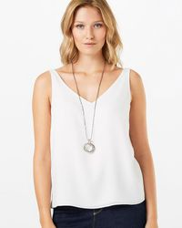 Phase Eight - Metallic Polly Crystal Pendant Necklace - Lyst