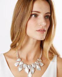 Phase Eight - Metallic Bianca Necklace - Lyst
