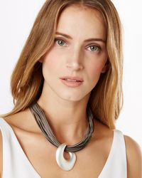 Phase Eight | Multicolor Madison Leather Necklace | Lyst