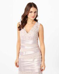 Phase Eight - Multicolor Tamara Layered Dress - Lyst