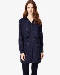 Phase Eight - Blue Hailey Star Print Tunic - Lyst