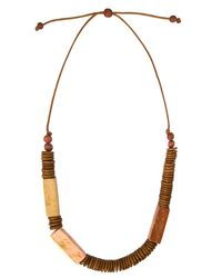 Phase Eight - Multicolor Fay Wooden Necklace - Lyst