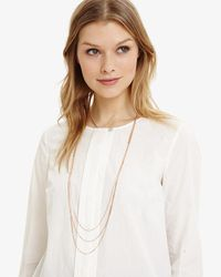Phase Eight - Multicolor Natalie Triple Row Long Necklace - Lyst