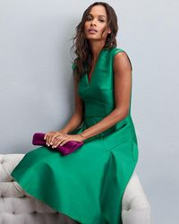 Phase Eight | Green Danessa Dress | Lyst