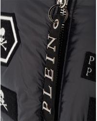 "Philipp Plein - Black Bomber ""adam"" for Men - Lyst"