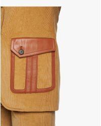 Prada Multicolor Corduroy Blazer