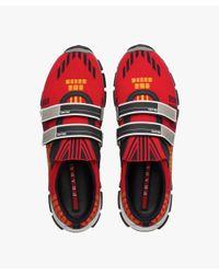 Prada - Red Crossection Sneakers for Men - Lyst