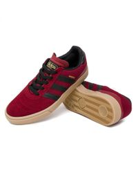 Adidas - Red Busenitz Vulc Shoes for Men - Lyst