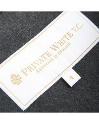 Private White V.c. - Brown Suede Rainrider for Men - Lyst