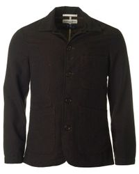 Universal Works - Green Bakers Wool Jacket for Men - Lyst