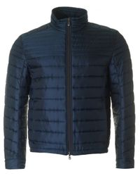BOSS Green | Blue Jeon Quilted Jacket for Men | Lyst