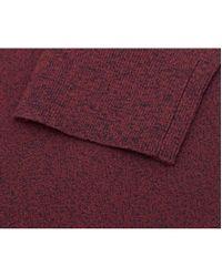 J.Lindeberg - Purple Pavo Crew Neck Nylon Knit for Men - Lyst