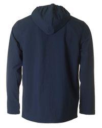 Lyle & Scott - Blue Hooded Raincoat for Men - Lyst