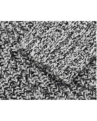 J.Lindeberg - Black Twist Braided Heavy Knit for Men - Lyst
