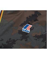 K-Way - Multicolor Leon Graphic Half Zip Pop Over Jacket for Men - Lyst