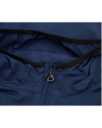 EA7 - Blue Train Core Id Zip Through Windbreaker for Men - Lyst