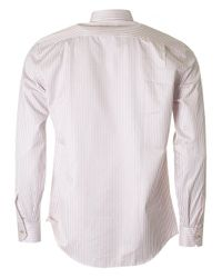 Paul Smith - Pink Slim Fit Bengal Stripe Shirt for Men - Lyst
