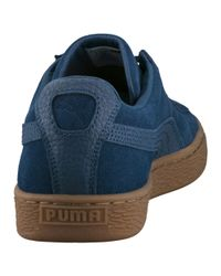 PUMA - Blue Suede Classic Natural Warmth Sneakers for Men - Lyst