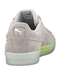 PUMA - Gray Suede Classic Explosive Men's Sneakers for Men - Lyst