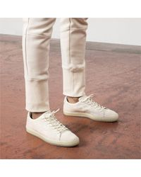 PUMA - White X Naturel Suede Sneakers for Men - Lyst