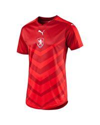 PUMA - Red 2016/17 Czech Republic Home Replica Jersey for Men - Lyst