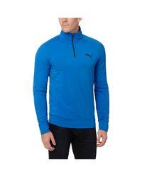 PUMA | Blue Stretchlite Half-zip Top for Men | Lyst