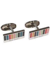 Paul Smith - Metallic Cufflinks For Men On Sale for Men - Lyst