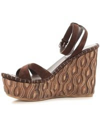 Miu Miu - Brown Shoes For Women - Lyst