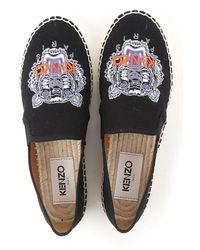 KENZO - Black Shoes For Women - Lyst