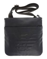 Emporio Armani - Black Bags For Men for Men - Lyst