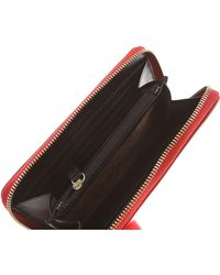 Moschino - Red Wallet For Women - Lyst