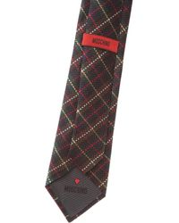 Moschino - Black Ties for Men - Lyst