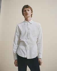 Rag & Bone | White Fit 3 Standard Issue Beach Shirt for Men | Lyst