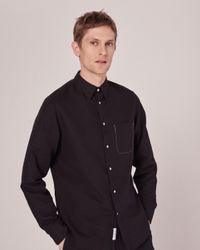 Rag & Bone | Black Beach Shirt for Men | Lyst