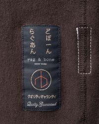 Rag & Bone - Brown Racer Sweatshirt for Men - Lyst