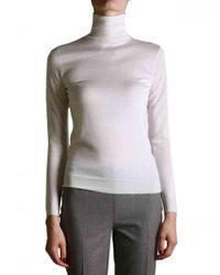 Ralph Lauren Black Label | White Turtleneck Sweater | Lyst
