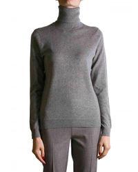 Ralph Lauren Black Label | Gray Medium Grey Melange Turtleneck Sweater | Lyst