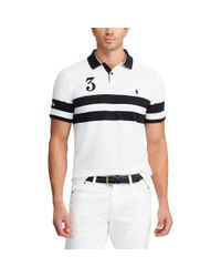 Pink Pony - White Classic Fit Featherweight Polo for Men - Lyst