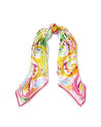 Ralph Lauren - Pink Sicily Paisley Silk Scarf - Lyst