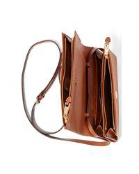 Ralph Lauren | Brown Mini Kaelyn Crossbody Bag | Lyst