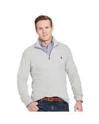 Pink Pony | Gray Cotton-blend Half-zip Pullover for Men | Lyst