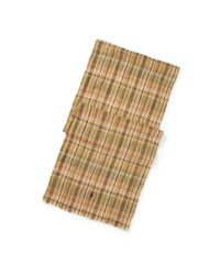 Polo Ralph Lauren - Multicolor Tartan Linen Scarf for Men - Lyst
