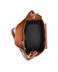 Ralph Lauren - Brown The Calfskin Rl Bucket Bag - Lyst