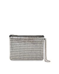 Ralph Lauren - Multicolor Sequined Houndstooth Pouch - Lyst