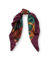Ralph Lauren - Multicolor Equestrian Silk Scarf - Lyst